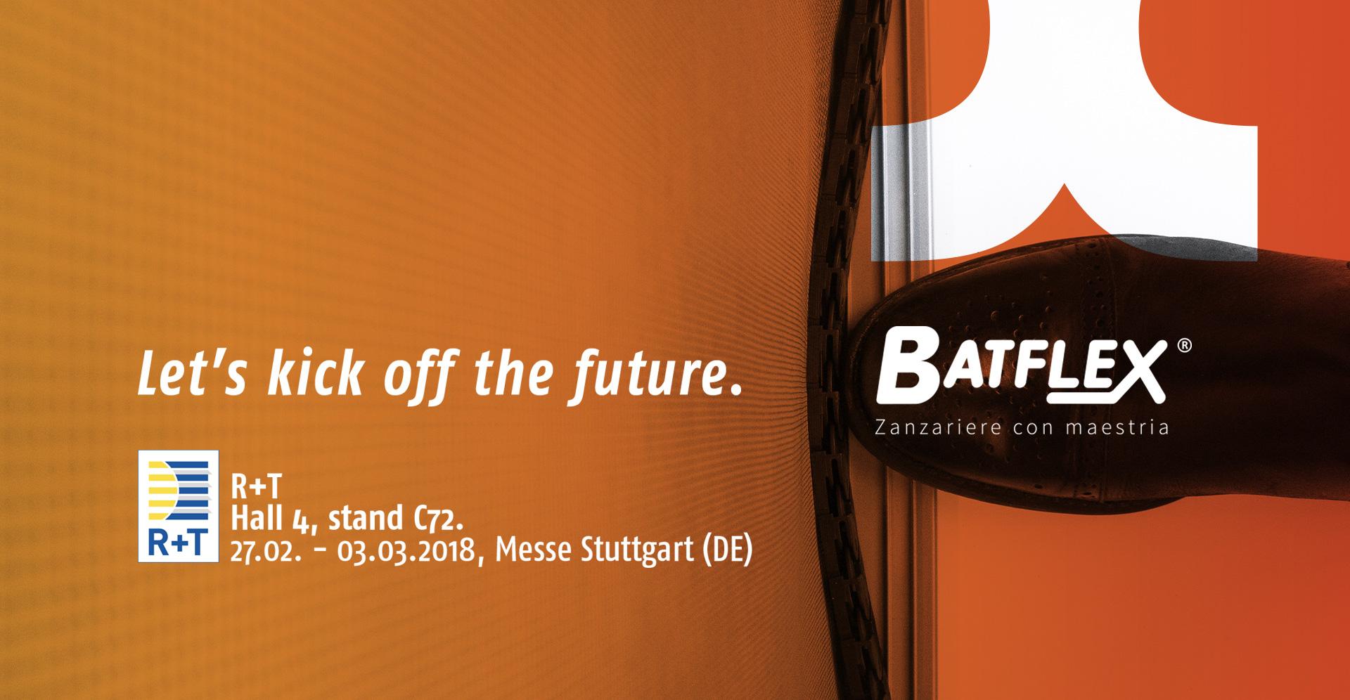 Batflex sarà protagonista della R+T 2018