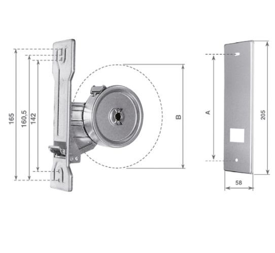 AMT12 12-meter zinc-coated wrapper with stainless-steel plate