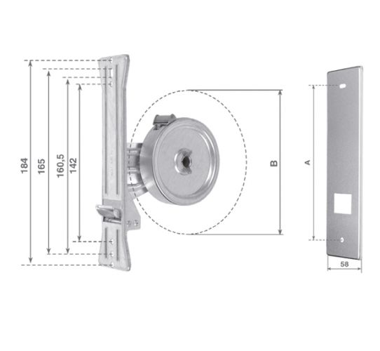 AMT6 6-meter zinc-coated wrapper with stainless-steel plate